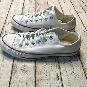 Converse All Star White Low Top Sneakers NIB